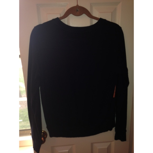 73% off GAP Sweaters - Navy Blue and Gold Sweater from Gap from ...