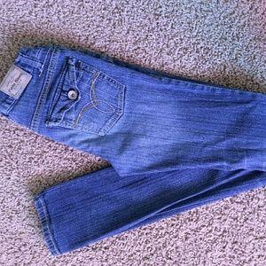 Paris Blues Denim - Medium wash skinny jeans by Paris Blues