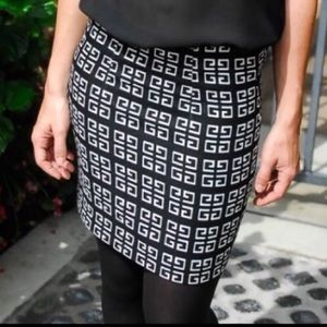 Relished Dresses & Skirts - RELISHED Black/White Skirt NWT