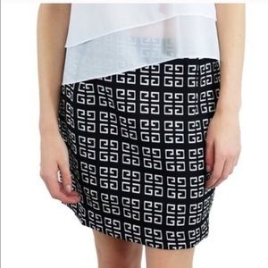 Relished Dresses & Skirts - Black/White Print Skirt NWT