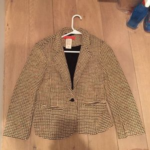 Anthropologie knit blazer