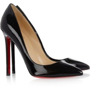 Black Christian Louboutin pumps