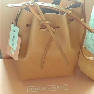 Mansur Gavriel brand new bucket bag!