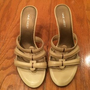 Nine West sandals.. Great for the summer!!!