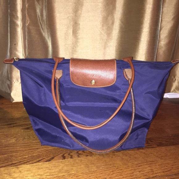 Longchamp Handbags - Longchamp Le Pliage Large - Navy 95ed1365bb