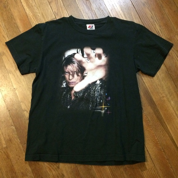 David Bowie 2003 Reality Tour Shirt T Shirt Rare!