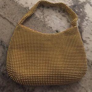 Handbags - GOLD MESH EVENING BAG
