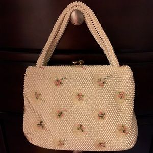 Vintage Beaded Frame Handbag