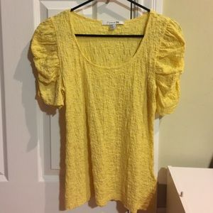 Forever 21 Yellow Top