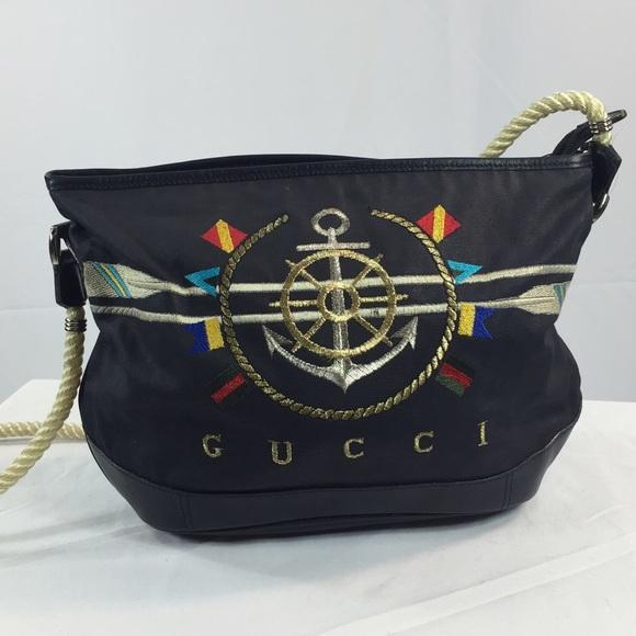 3d3f197ced9 Gucci Handbags - GUCCI Nautical Bag. Collectors Bag
