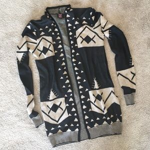 Aztec sweater cardigan