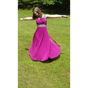 Dresses & Skirts - Purple prom dress