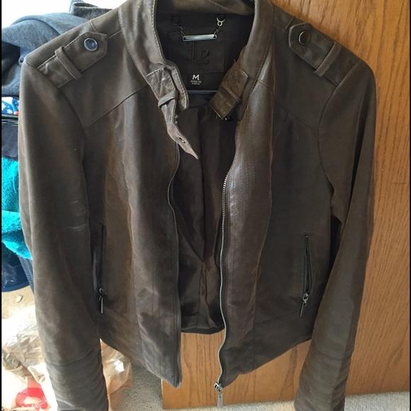 16783b24e Faux leather jacket from Kohls