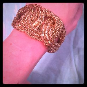 The Limited gold bangle