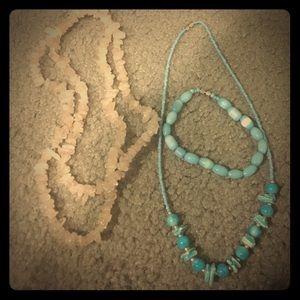 Handmade stone jewelry