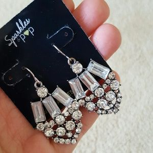 Accessories - Beautiful silver statement earrings