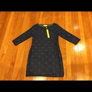 NWT Navy Catherine Malandrino Dress