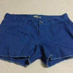 Blue old navy shorts