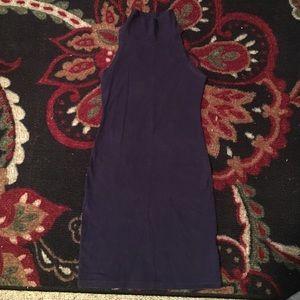 American Apparel Eggplant dress