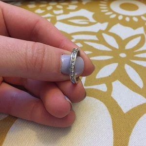 Jewelry - Simple rhinestone band ring