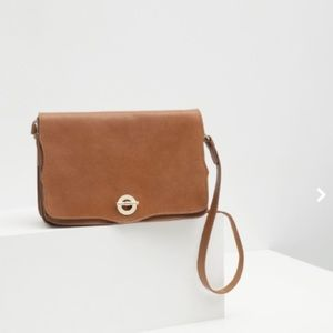 Zara Leather Messenger bag