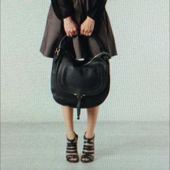 Chloe Bags   Marcie Large Hobo Black   Poshmark ad2bdc9faf