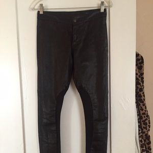 Leather pants rag and bone 25