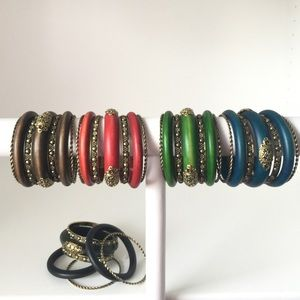 Jewelry - 2 Sets of 7 Boho Bangles