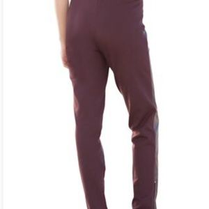 216a3bd0fe7 Jessica London Pants - Ankle zip leather and Ponte jeggings. NWOT!