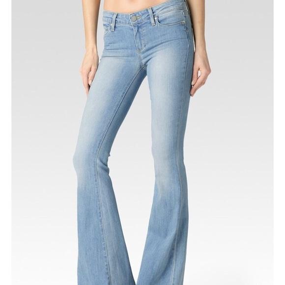 552a9940fe891 Paige light blue Fiona flare jeans