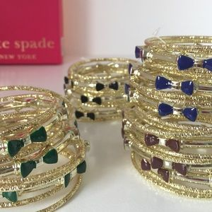 Jewelry - NEW 11 Quality Bow Bangles