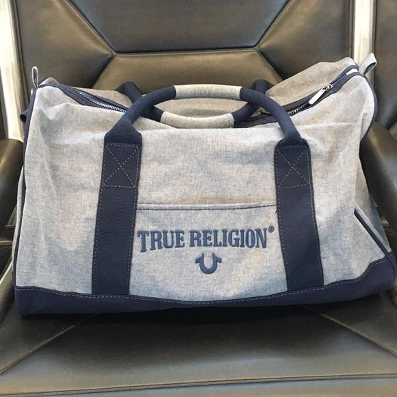New True Religion Duffle bag 4d402348f0067
