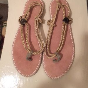 Gap rope sandals size 6