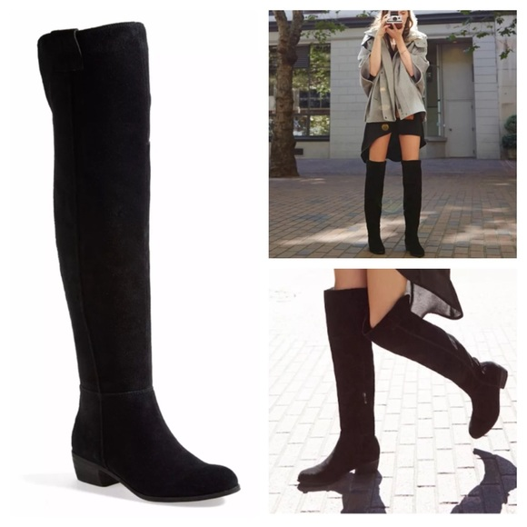 6c197cac51d5b6 Sam Edelman Johanna Over-the-Knee Boots Suede 4