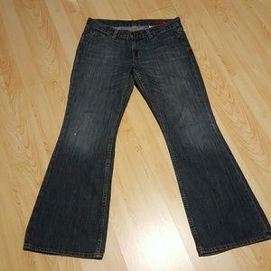 Express X2 Bootcut Denim Jeans 6S