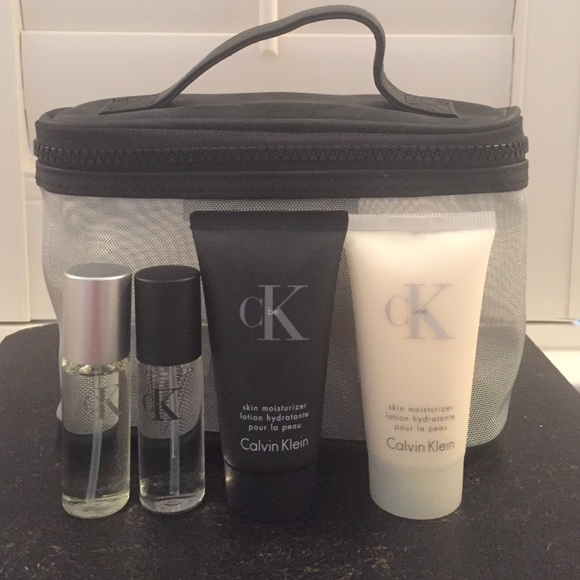 14b7005599796e Calvin Klein Accessories - cK be and cK one travel size perfume &  moisturizer