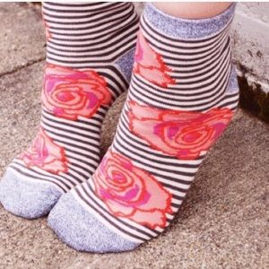 """Peony and Moss Accessories - 🎉Host Pic🎉 Peony and Moss crew socks in """"Blooms"""""""