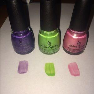 China Glaze Nail Polish 💅🏼