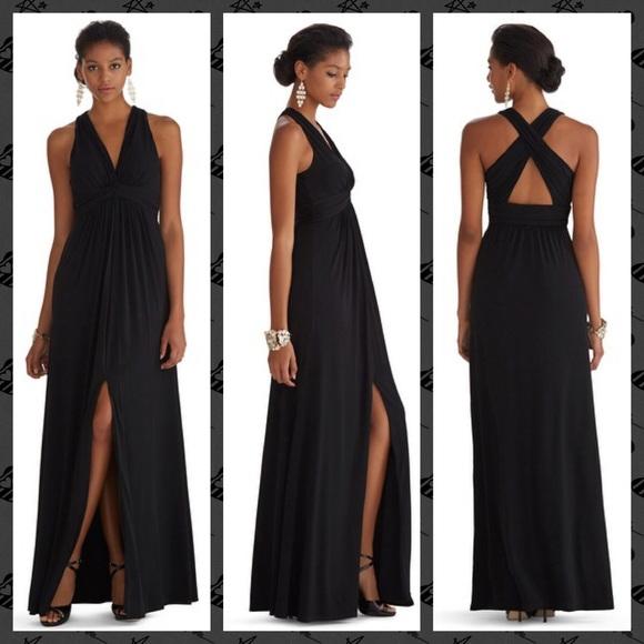 White House Black Market Dresses | Hp Nwt Whbm Crossback Matte ...
