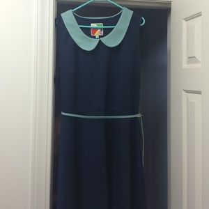 ModCloth Dresses & Skirts - Modcloth-Adorable Navy dress-3X