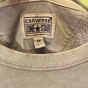c1775dfb29c1 Converse Tops - Women s Converse One Star Distressed Sweatshirt