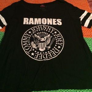 torrid Tops - Torrid- Ramones t-shirt Size 2