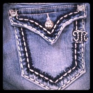 size 25 bootcut miss me jeans