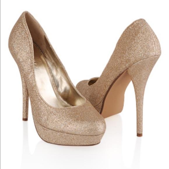 60 off forever 21 shoes forever 21 gold high heels. Black Bedroom Furniture Sets. Home Design Ideas