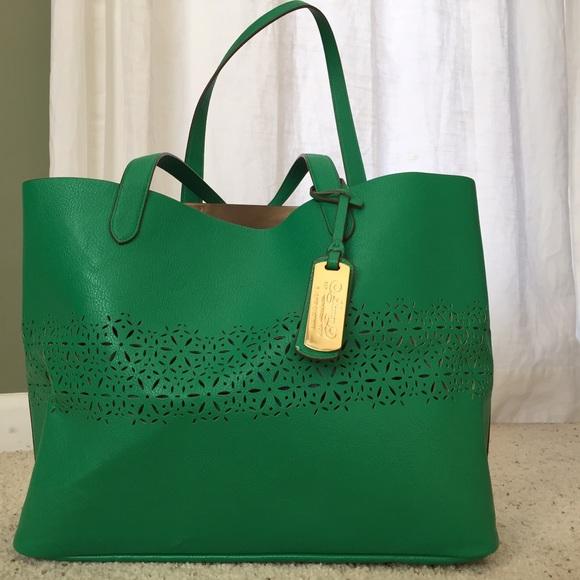 a1173cf27e Ralph Lauren laser cut shopper bag. M 569d9dfca72265537a064faa