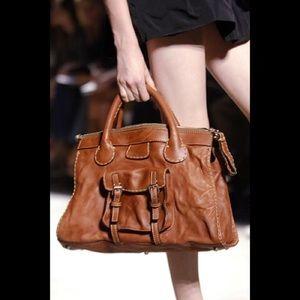 92% off Chloe Handbags - ??Chloe Edith leather double pocket ...