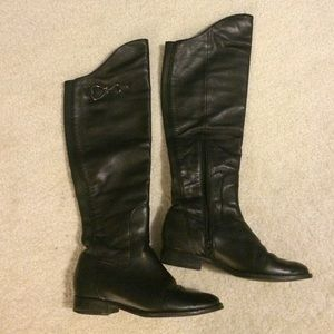Cole haan black over the knee boots