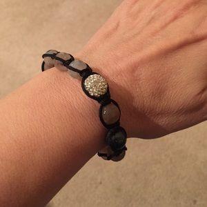 Jewelry - Macrame bead bracelet