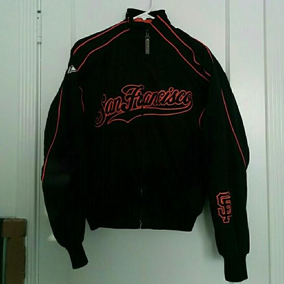 buy popular 05f59 3f5ef Authentic Majestic San Francisco Giants Jacket