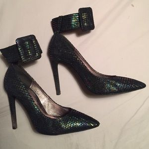 Jeffrey Campbell strapped heels